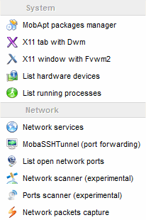 MobaXterm Xserver with SSH, telnet, RDP, VNC and X11 - Features